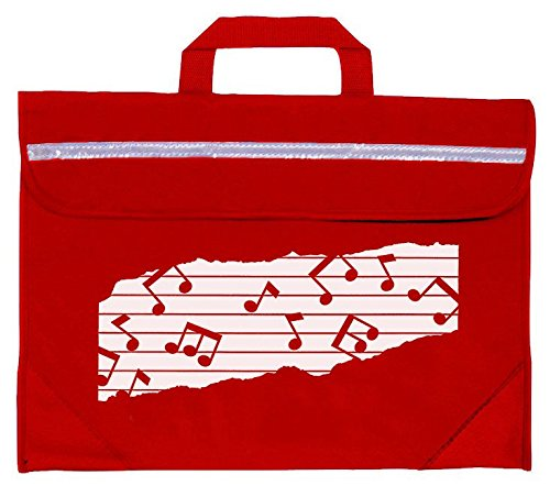 Mapac MP11310-RD Duo Music Bag with Motif - Red from Mapac
