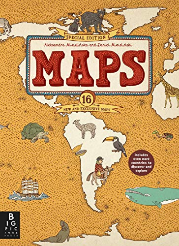 Maps Special Edition from Big Picture Press