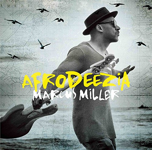 Marcus Miller - Afrodeezia (CD+DVD) [Japan LTD CD] VIZJ-18 from Victor Japan
