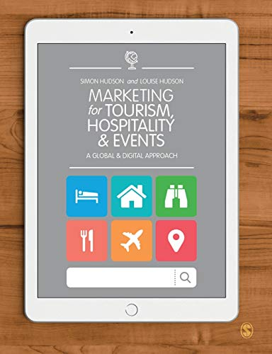 Marketing for Tourism, Hospitality & Events from Sage Publications Ltd