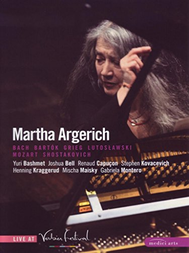 Martha Argerich: Live at Verbier Festival, 2007-2008 [DVD] [2009] from EuroArts