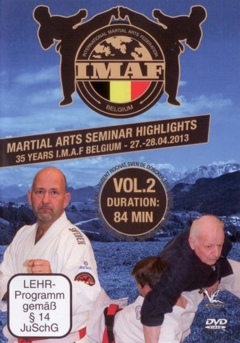 Martial Arts Seminar Highlights: 35 Years Imaf Belgium - Volume 2 [DVD] from Quantum Leap Group
