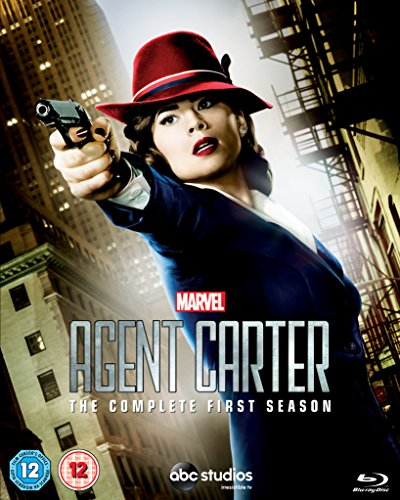 Marvel's Agent Carter - Season 1 [Blu-ray] [2015] [Region Free] from Walt Disney Studios Home Entertainment