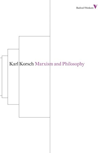Marxism and Philosophy (Radical Thinkers) from Verso