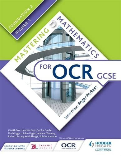 Mastering Mathematics for OCR GCSE: Foundation 2/Higher 1 from Hodder Education