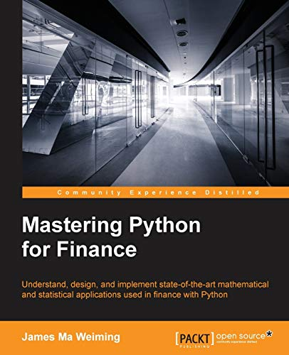 Mastering Python for Finance from Packt Publishing