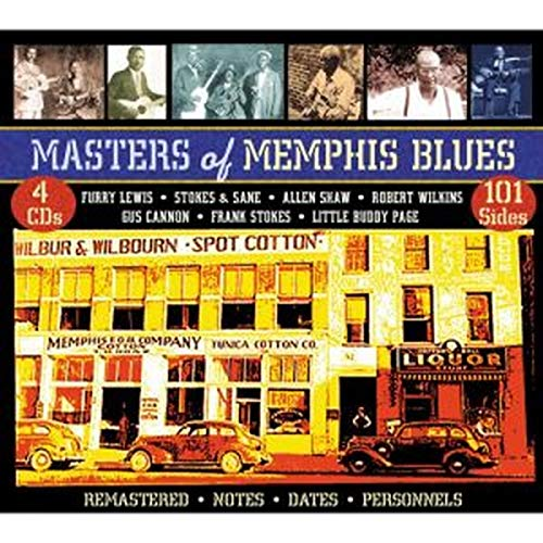 Masters Of Memphis Blues from JSP