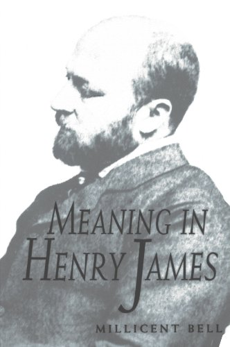 Meaning in Henry James from Harvard University Press