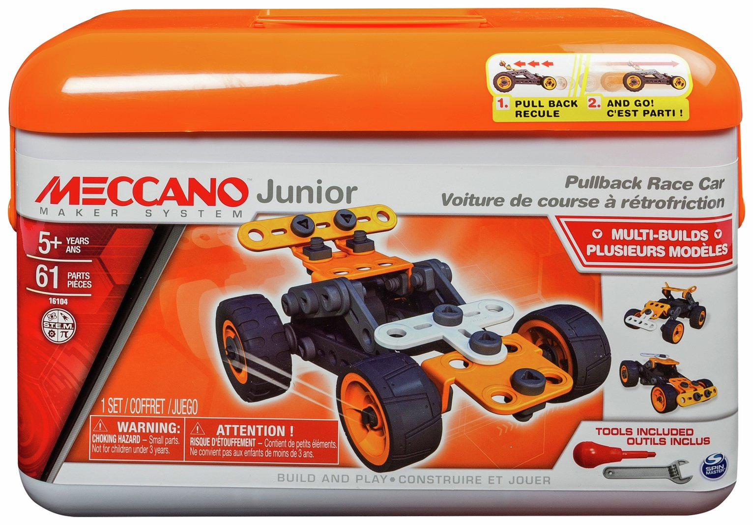 Meccano Find Offers Online And Compare Prices At Wunderstore Relays Electronics In Junior Tool Box Assortment From
