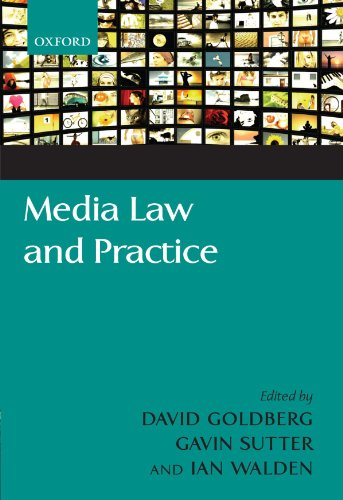 Media Law and Practice from Oxford University Press, USA