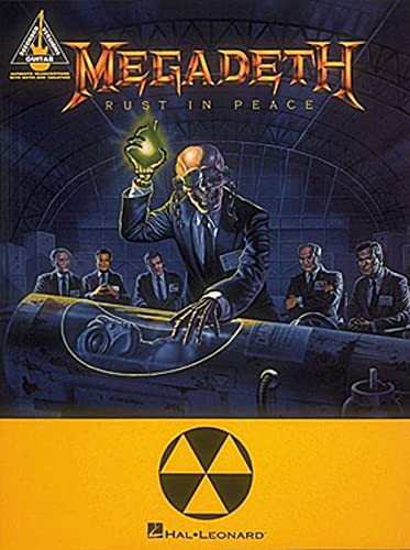 Megadeth: Rust in Peace AUTHENTIC GUITAR-TAB EDITION includes complete solos from Hal Leonard