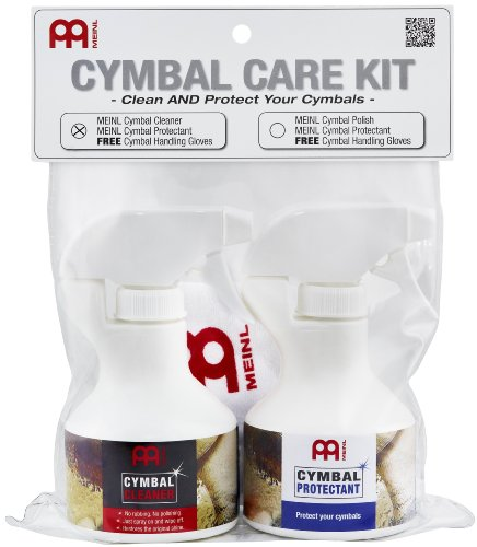 Meinl MCCK-MCCL Cymbal Care Kit from Meinl