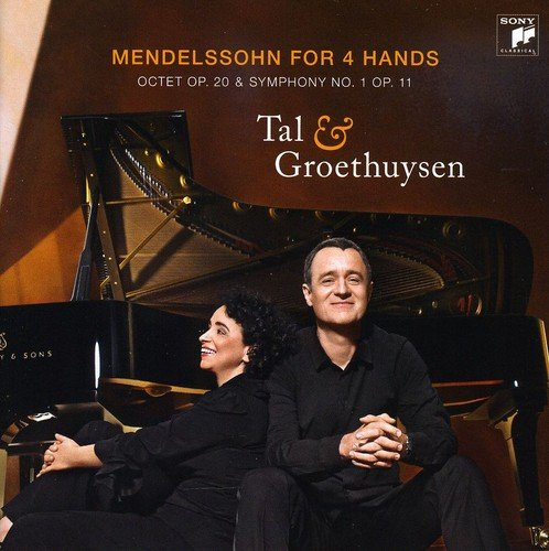 Mendelssohn: Piano Works For Four Hands, Octet & Symphony 1