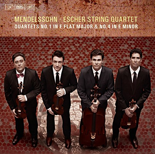 Mendelssohn:Quartet No. 1 & 4 [Escher String Quartet] [BIS: BIS1960] from Bis
