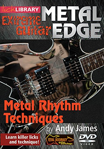 Metal Edge Extreme Guitar Metal Rhythm Techniques DVD from Hal Leonard