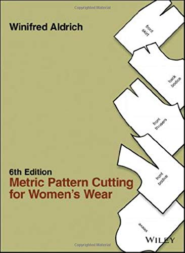 Metric Pattern Cutting for Women's Wear from John Wiley & Sons
