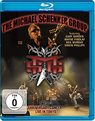 Michael Schenker Group: Live In Tokyo - 30th Anniversary Concert [Blu-ray] [2010] from Inakustik