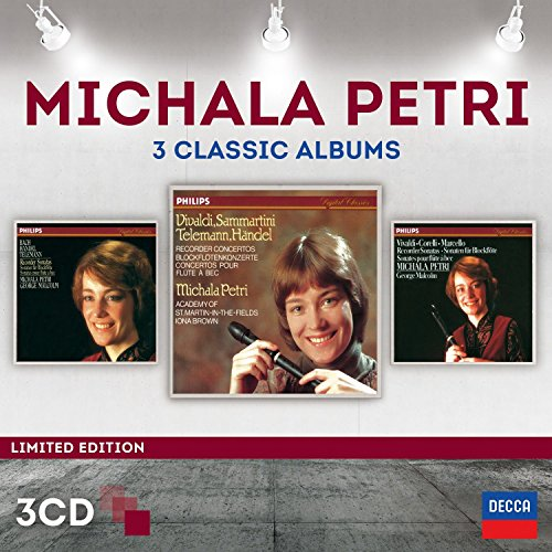 Michala Petri - Three Classic Albums