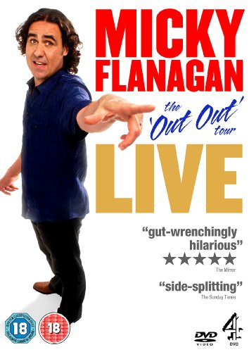 Micky Flanagan Live: The Out Out Tour [DVD] from Channel 4 DVD