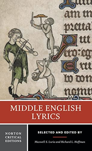 Middle English Lyrics: 0 (Norton Critical Editions) from W. W. Norton & Company