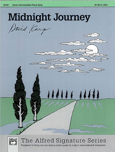 Midnight Journey Sheet from Alfred Music Publications