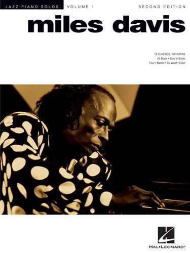 Jazz Piano Solo Volume 1: Miles Davis (Jazz Piano Solos (Numbered)) from Hal Leonard