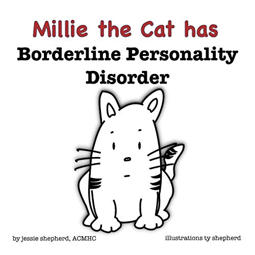Mille the Cat has Borderline Personality Disorder (What Mental Disorder) from BlueFox Press