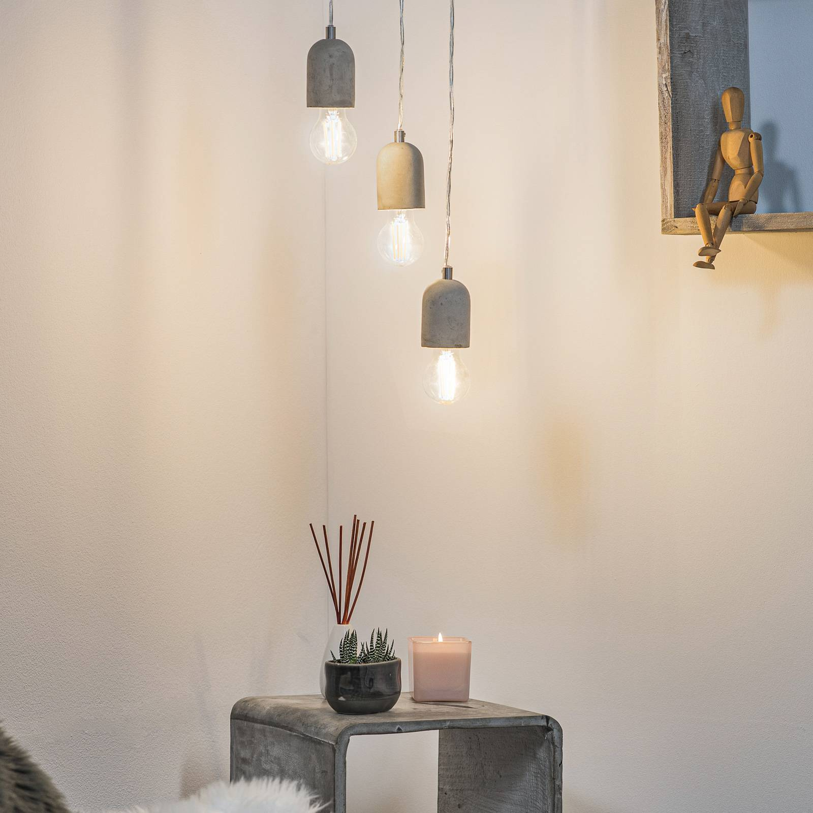 Silvares hanging light with minimalist design from EGLO
