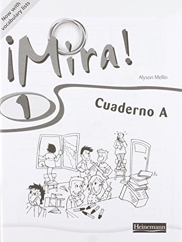 Mira 1 Workbook A Revised Edition (Pack of 8) from Heinemann
