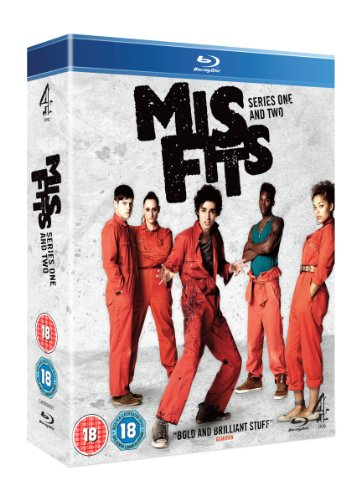 Misfits - Series 1-2 Box Set [Blu-ray] from Channel 4 DVD