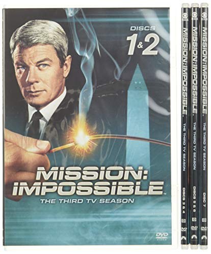 Mission Impossible: Complete Third TV Season [DVD] [Region 1] [US Import] [NTSC] from Paramount Home Video