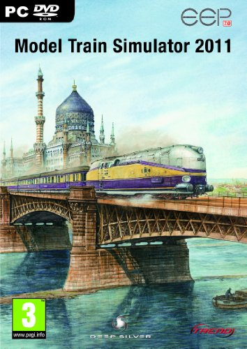 Model Train Simulator 2011 (PC DVD) from Deep Silver