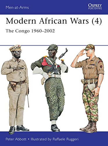 Modern African Wars (4): The Congo 1960–2002: 492 (Men-at-Arms) from Osprey Publishing
