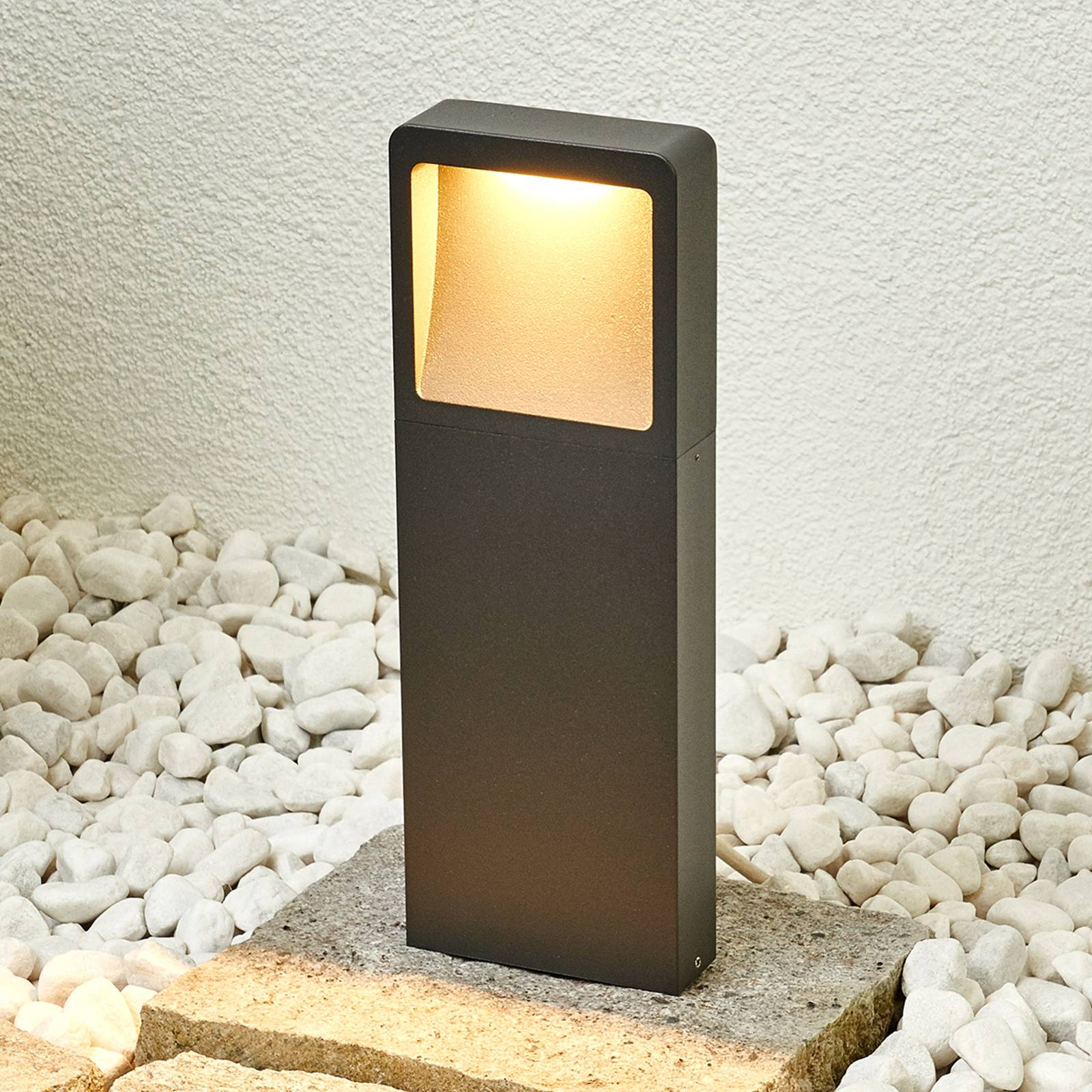 Modern Leya LED pillar light from Lampenwelt.com