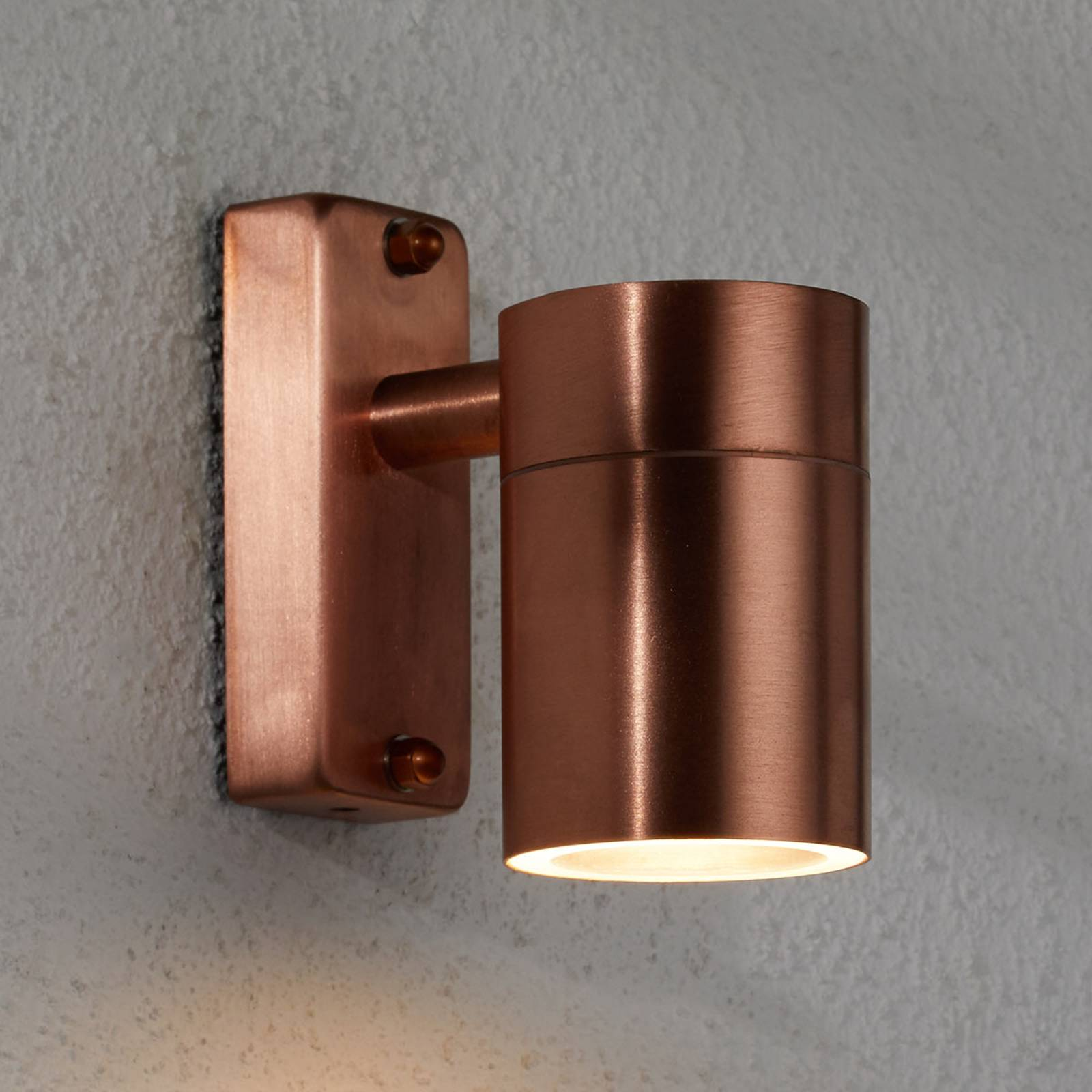 Modern copper outdoor wall lamp Tin from Nordlux