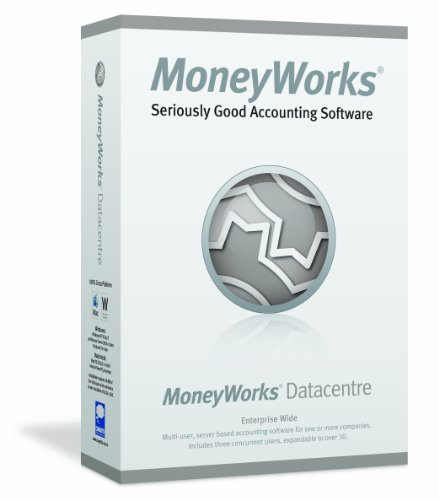 MoneyWorks 6 Datacentre (3 Users) (Mac/PC) from Cognito Software