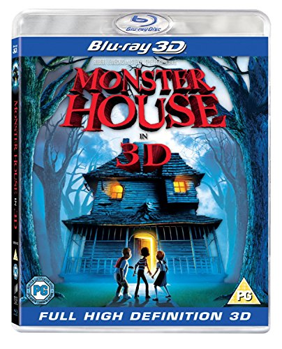 Monster House 3D (Blu-ray 3D) [2010] [Region Free] from Sony Pictures Home Entertainment