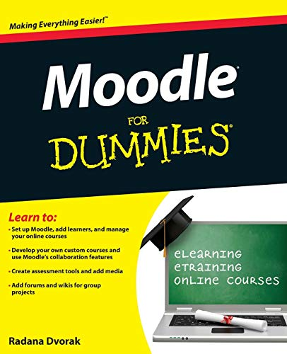 Moodle For Dummies from For Dummies