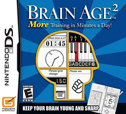More Brain Training with Dr. Kawashima. How Old is Your Brain from Nintendo