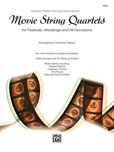 Movie String Quartets Viola (Alfred's Ovation String Quartet) from Alfred Music