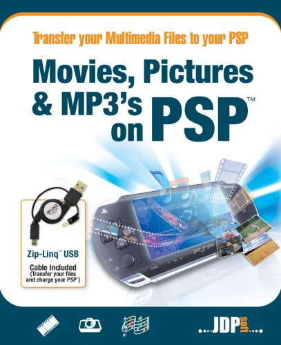Movies, Pictures & MP3 on PSP (PC) from JDP Software