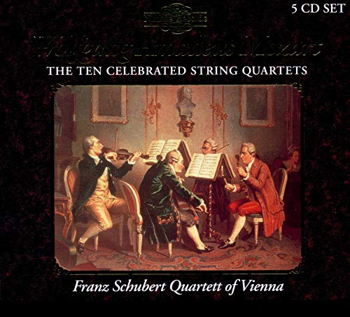 Mozart - Ten Celebrated String Quartets from NIMBUS
