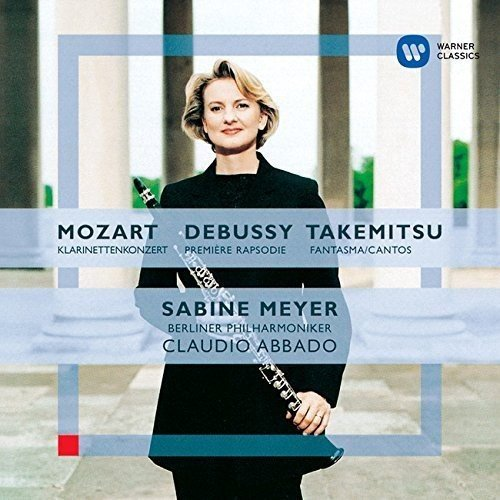Mozart: Clarinet Concerto. Debussy from Warner
