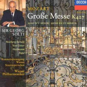 Mozart: Mass in C Minor from Decca