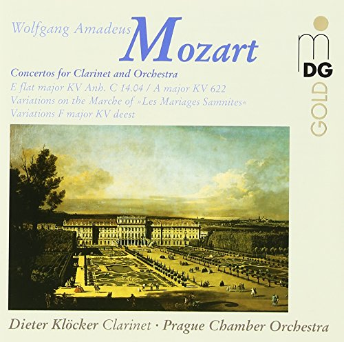 Mozart: Works for Clarinet and Orchestra