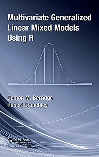 Multivariate Generalized Linear Mixed Models Using R from CRC Press