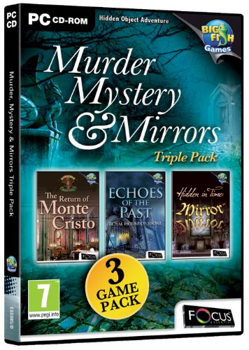 Murder, Mystery and Mirrors Triple Pack (PC CD) from FOCUS MULTIMEDIA