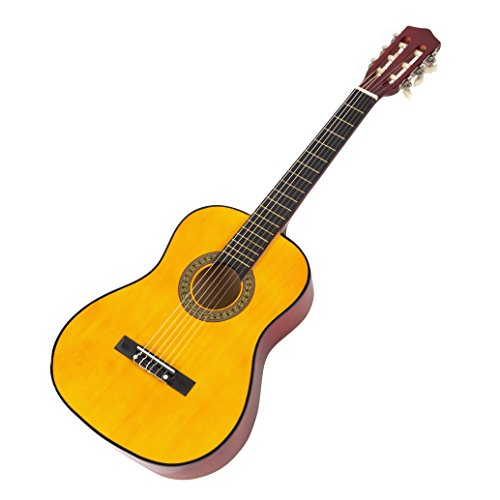 Music Alley MA-34-N Classical Junior Guitar - Natural from Music Alley