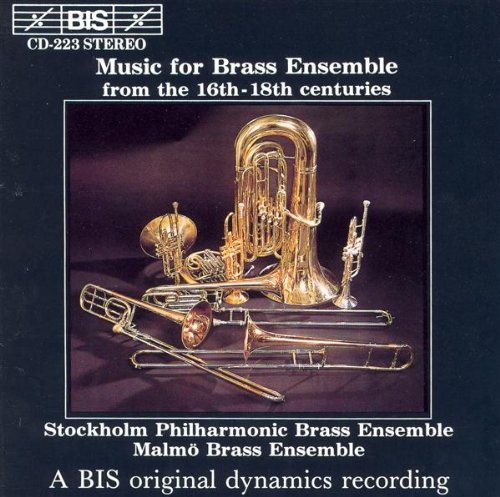 Music for Brass Ensemble from the 16th-18th Centuries from BIS