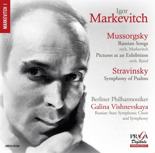 Mussorgsky: Russian Songs, Pictures at an Exhibition, Stravinsky: Symphony of Psalms from PRAGA DIGITALS